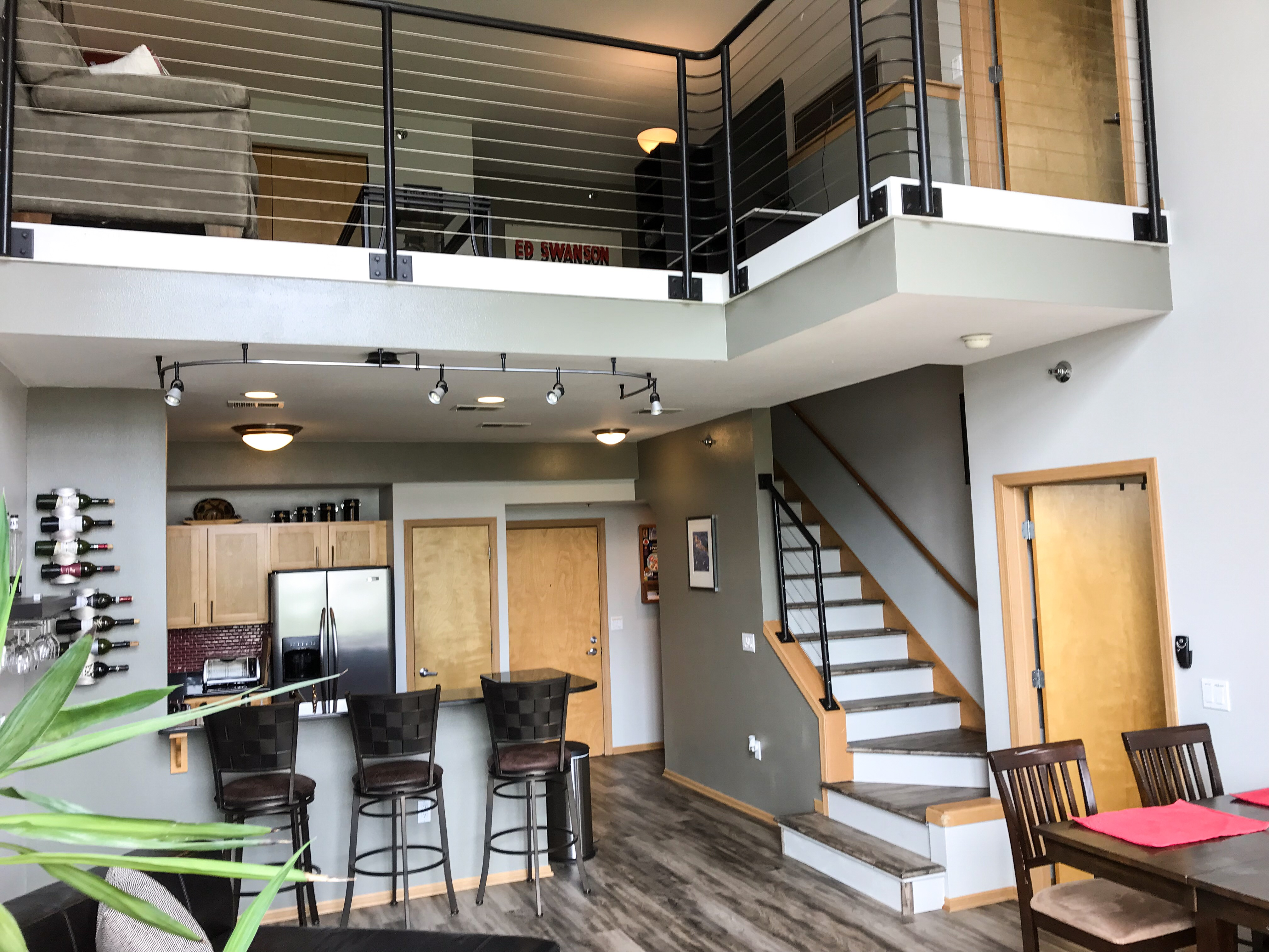 Fully Furnished Two Bedroom Modern Loft Style Condo In